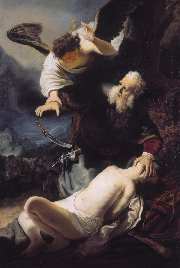 Image result for sacrifice of Isaac