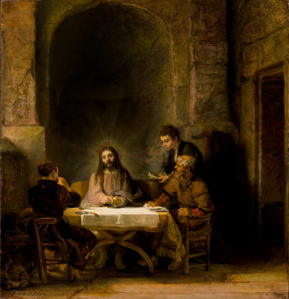Rembrandt Harmensz. van Rijn: Supper at Emmaus (1648 [1])