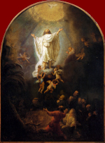 Rembrandt Harmensz. van Rijn: Ascension