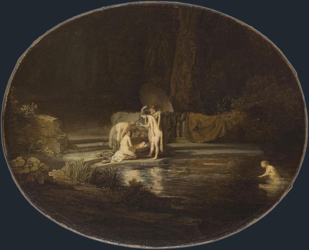 Rembrandt Harmensz. van Rijn: Moses Found