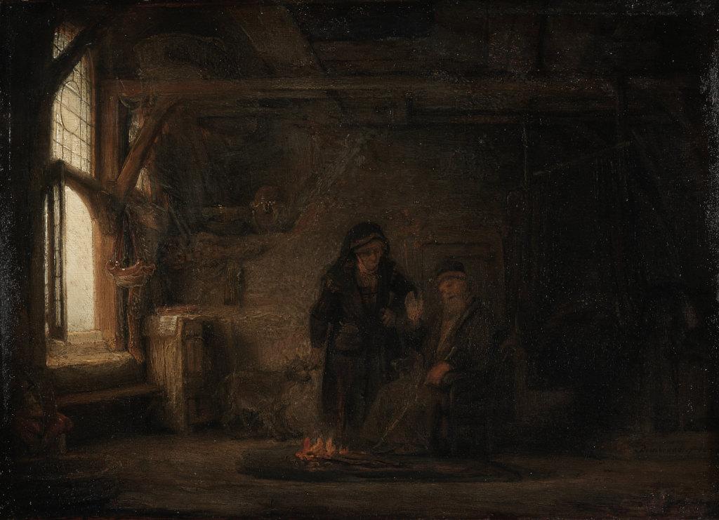 COV ZAJ NYEEM NIAJ HNUB HAUV NRUAB LIS PIAM  2014-15 - Page 7 Rembrandt_tobit_anna_1645_oil_grt