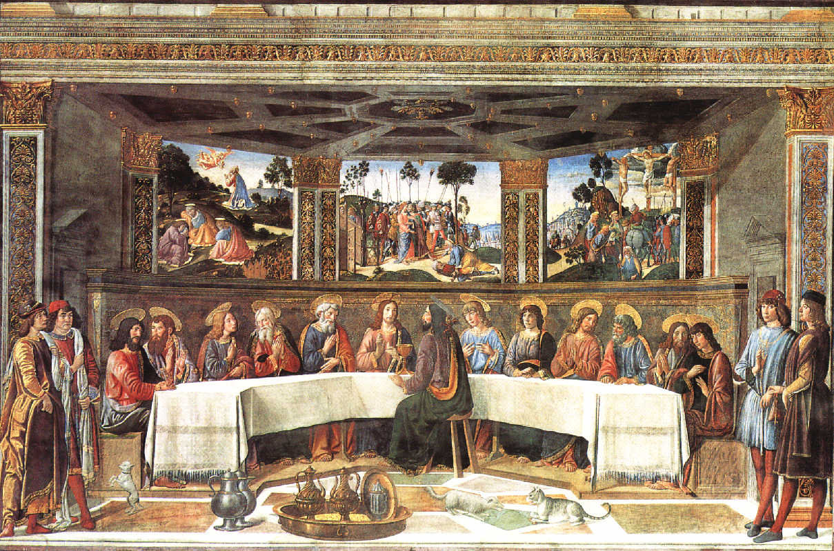 Cosimo Rosselli: The last supper
