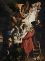 Peter Paul Rubens: Deposition - central panel