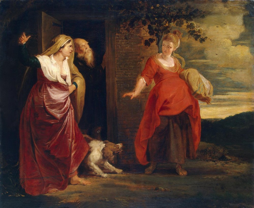 Peter Paul Rubens: Hagar Leaves the House of Abraham