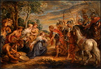 Peter Paul Rubens: The Meeting of David and Abigail