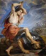 Peter Paul Rubens: David Slaying Goliath