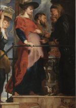 Peter Paul Rubens: The Visitation (Deposition - left wing)