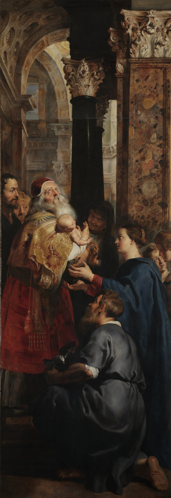 Peter Paul Rubens: Presentation in the Temple (Deposition - right panel)
