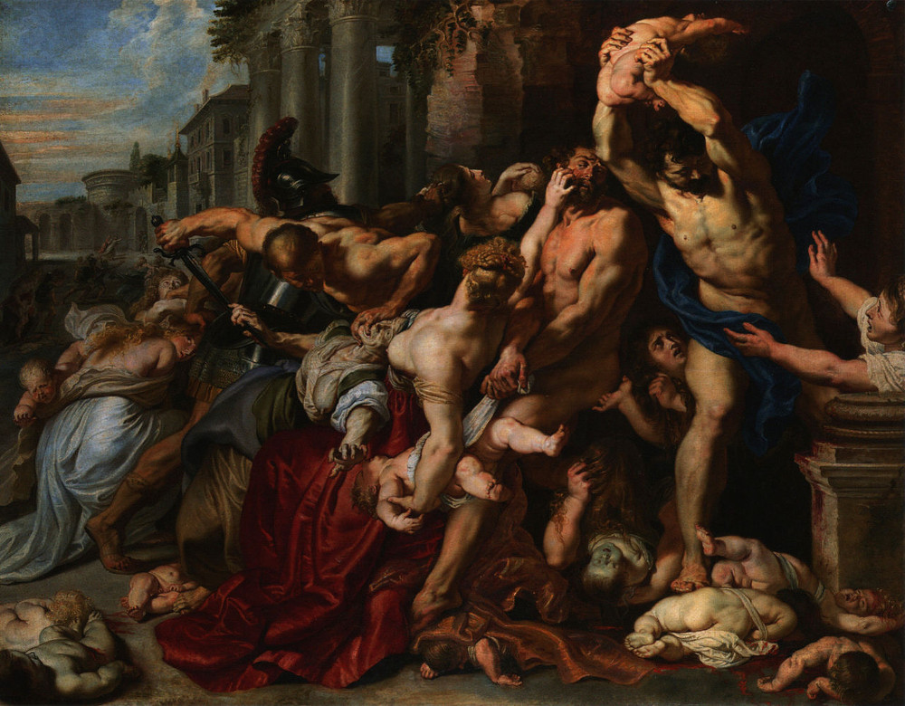 Peter Paul Rubens: Massacre of the Innocents