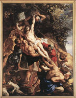 Peter Paul Rubens: Raising of the Cross