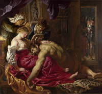 Peter Paul Rubens: Samson and Delilah