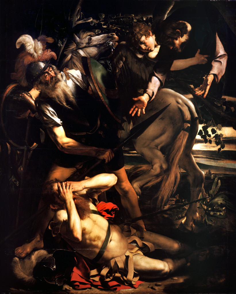 Caravaggio: The Conversion of St Paul [1]