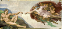 Michelangelo Buonarroti: The Creation of Adam