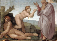 Michelangelo Buonarroti: The Creation of Eve