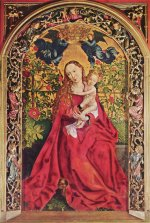 Martin Schongauer: Madonna of the Rose Bower