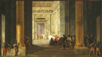 Salomon de Bray: The Queen of Sheba in Jerusalem