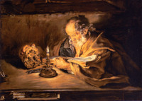 Giovanni Serodine: Saint Peter reading