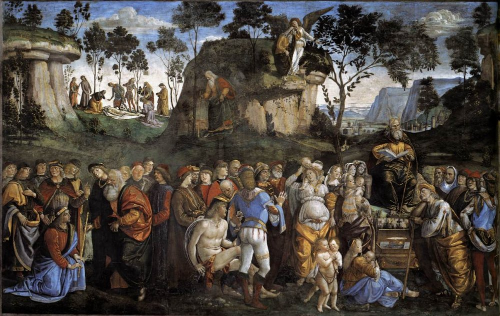 Luca Signorelli: Last Acts and Death of Moses