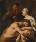 Jan Lievens: Samson and Delilah