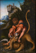 Lucas Cranach the Elder: Samson and the Lion