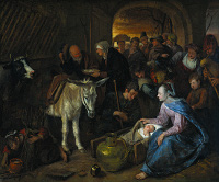 Jan Havicksz. Steen: Adoration of the shepherds