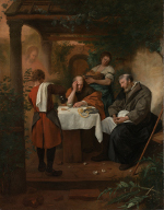 Jan Havicksz. Steen: Supper at Emmaus