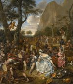 Jan Havicksz. Steen: The Worship of the Golden Calf