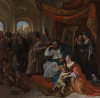 Jan Havicksz. Steen: Moses and Pharaoh's Crown