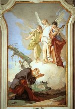 Giovanni Battista Tiepolo: The Angels Appear to Abraham
