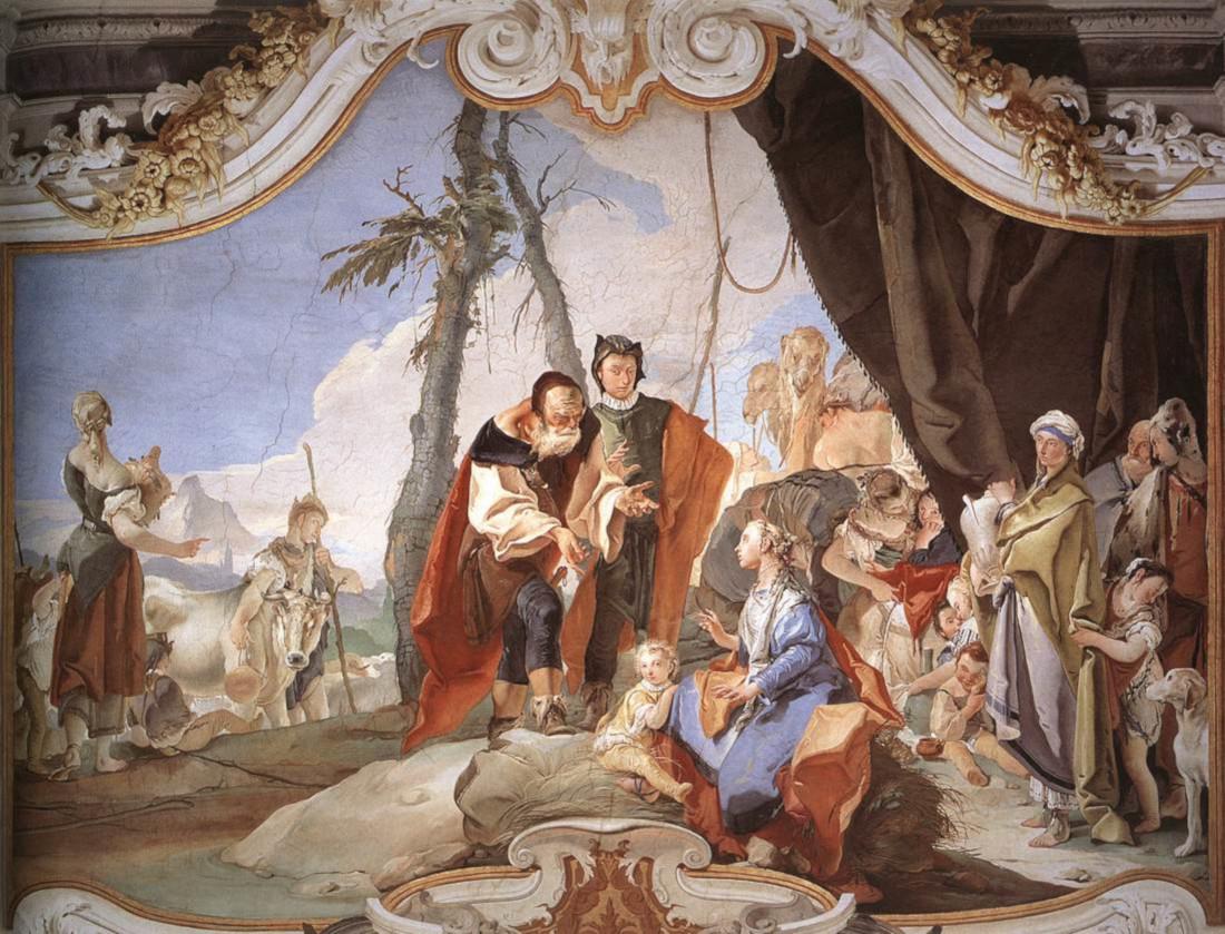 Giovan Battista Tiepolo: Rachel Hides her Father's Idols