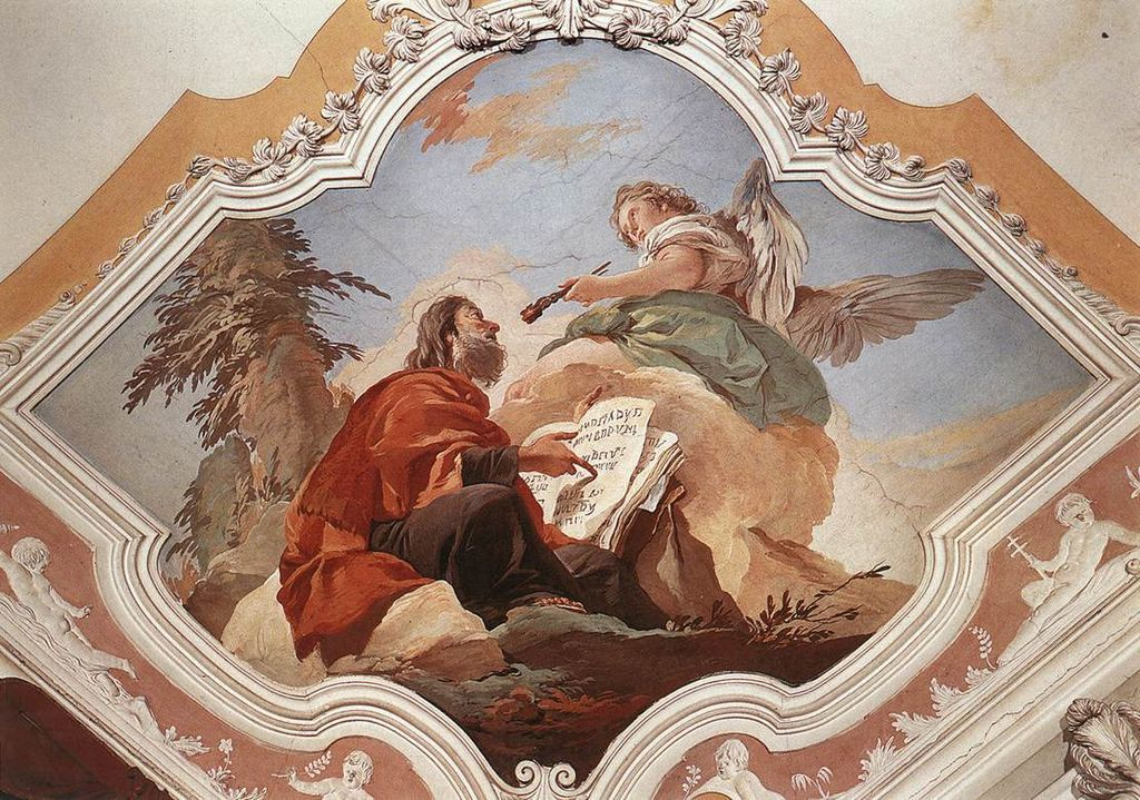 Giovan Battista Tiepolo: The Calling of Isaiah