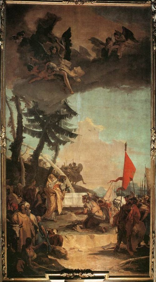 Giovan Battista Tiepolo: The Sacrifice of Melchizedek