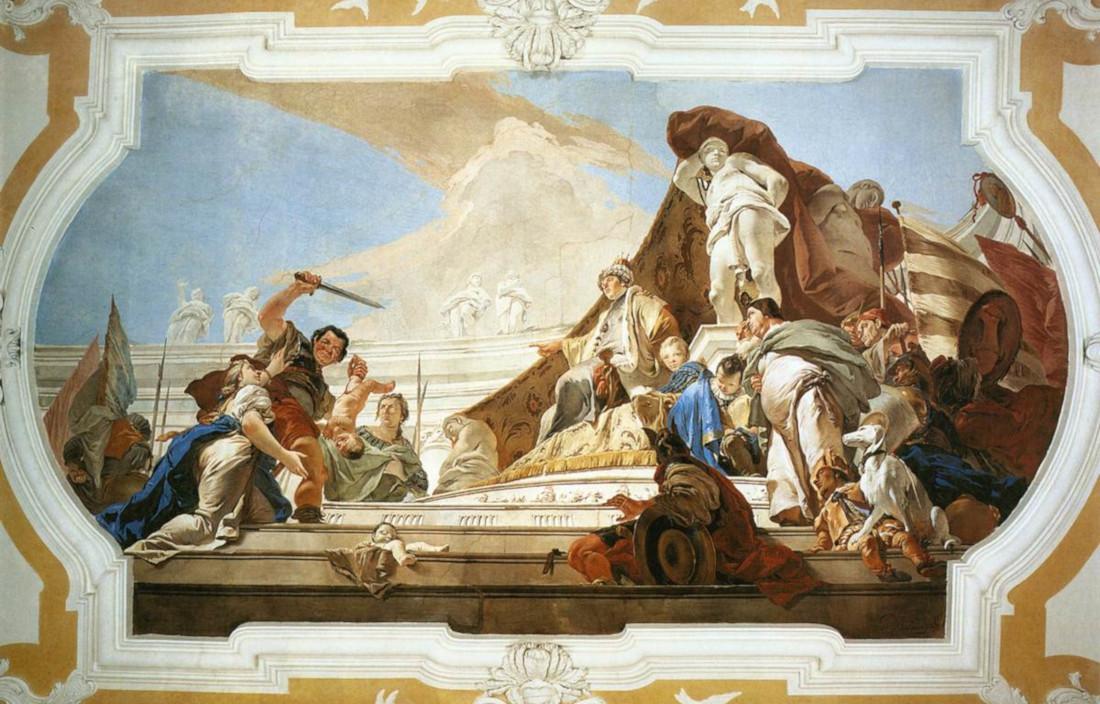 Giovanni Battista Tiepolo: The Judgment of Solomon