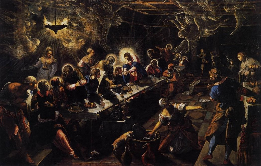Il Tintoretto: The Last Supper