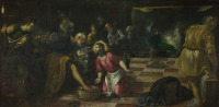 Il Tintoretto: The Washing of the Feet (1580)