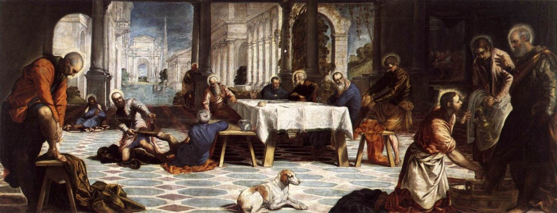 Il Tintoretto: The Washing of the Feet