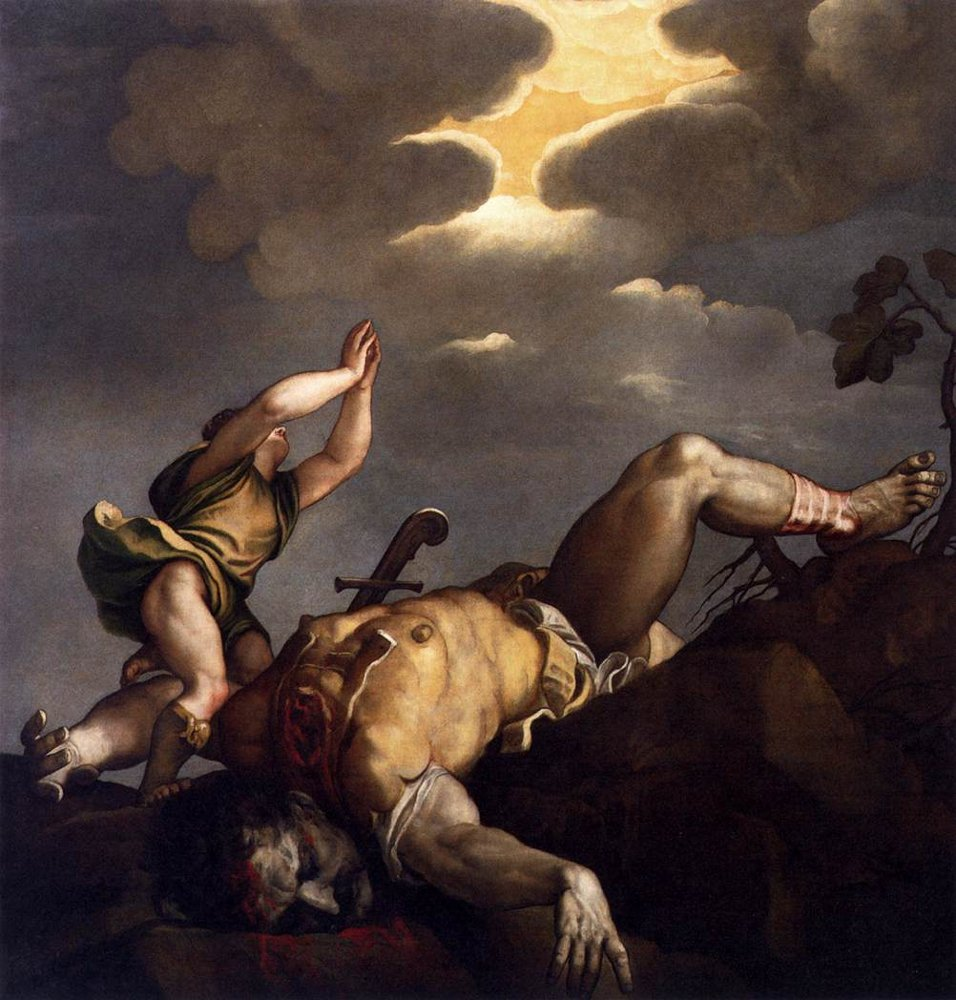 Titian: David and Goliath