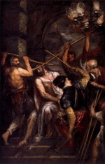 Titian: The Crowning with Thorns (1573)