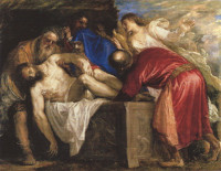 Titian: The Entombment