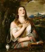 Titian: Penitent Mary Magdalene