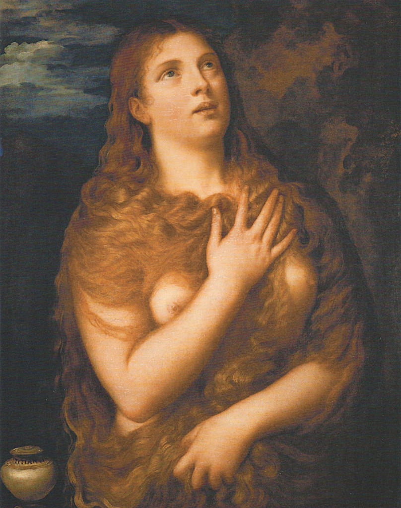 Titian: Penitent Mary Magdalene (1531)
