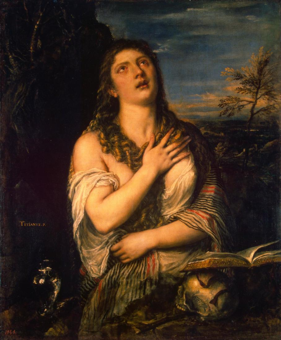 Titian: Penitent Mary Magdalene (1565)