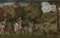 Titian: The Flight into Egypt