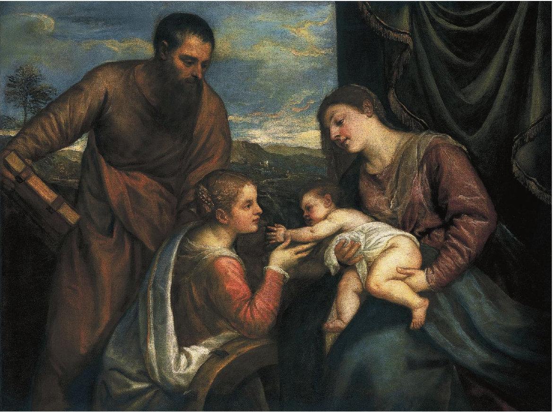 Titian: Sacra Conversazione