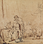 Rembrandt Harmensz. van Rijn: The Healing of Tobit