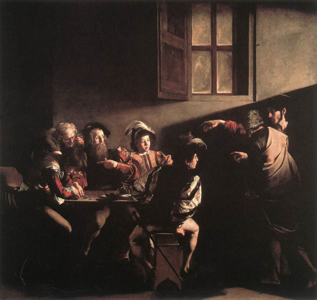Caravaggio: The Calling of Saint Matthew