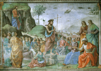Domenico Ghirlandaio: The Preaching of the Baptist