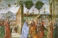 Domenico Ghirlandaio: The Visitation