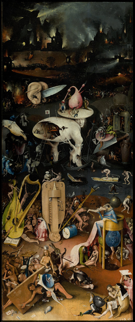 Jheronimus Bosch: Garden of Earthly Delights - Hell