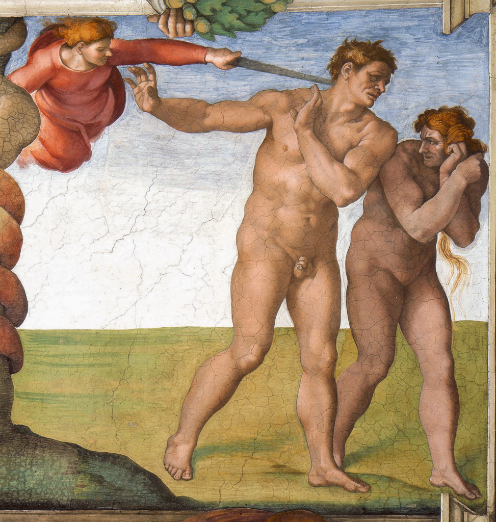 Michelangelo Buonarroti: The Expulsion from Paradise